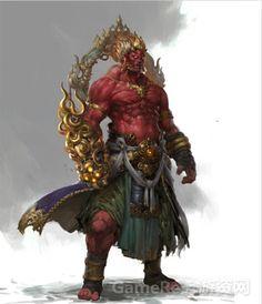 A Southern god of fire
