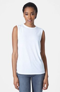 3b4933e838ed2 Topshop High Neck Tank available at  Nordstrom High Neck Tank Top