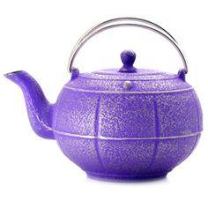 A4194 : Théière « PLEINE LUNE » fonte ultra-violet - 0,6 l