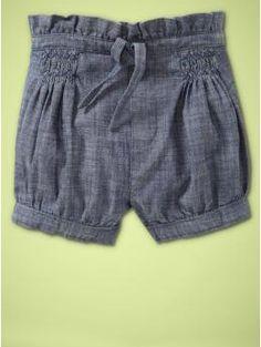 Drawstring sack shorts | Gap