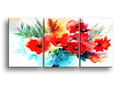 Quadro Papaveri cod639 | Quadri con motivi floreali | Artemente.com