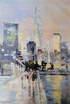Painter Irina Alexandrina, NYC4