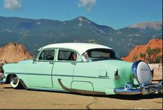 1954 Chevrolet 4 Door--.Re-Pin brought to you by #CarInsuranceagents at #HouseofInsurance in #EugeneOregon