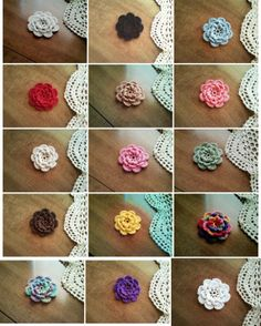 Free Shipping 15 Handmade Flowers Hand Crochet by MamasCrafts2013, $16.10