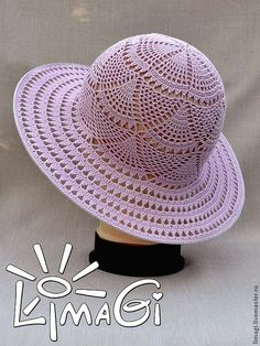 chapeus em croche ile ilgili g Crochet Summer Hats, Love Crochet, Beautiful Crochet, Crochet Hats, Crochet Socks Pattern, Bonnet Crochet, Crochet Stitches Patterns, Crochet Squares, Crochet Doilies