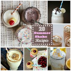 Cool Off: 20 Summer Shake Recipes