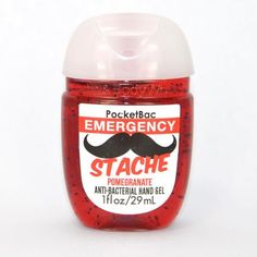 Gel antibactérien EMERGENCY STACHE POMEGRANATE Bath and Body Works