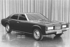 OG | 1972 Ford Granada / Consul Sedan Mk1 | Full-size design mock-up dated Apr. 1968