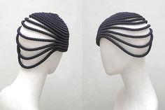 Angelika .Klose Model Coil HutDesign, Gallery #millinery #judithm #hats