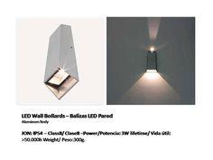 solicite datos técnicos: ventas@imexter.com #LightingDesign #Led #BalizaLed #WallLed