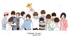 #세븐틴 #seventeen #kpop #fanart #fan-art