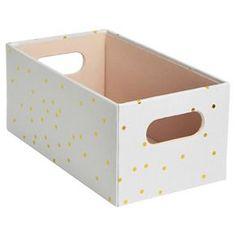 Decorative Dvd Storage Boxes Cddvd Storage Box With Handle  Threshold™  Cool Apartment Stuff