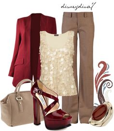 """Office Party""  by disneydiva7 on Polyvore"
