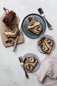 Chocolate Hazelnut Bread #recipe #breakfast #brunch