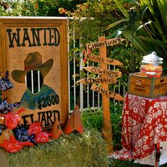 Image result for cowboy and indian party ideas
