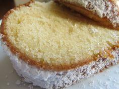 vanilla yogurt cake - the hubby would love this!!!!