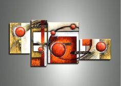 Oil Painting 432 - 63 x 32in, from http://fabuart.com/large-wall-art/modern-canvas?product_id=432