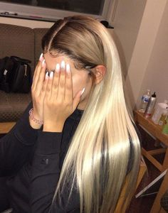 nobody is gonna see this -- custom color. not even my damn mother .not fucking body Baddie Hairstyles, Weave Hairstyles, Pretty Hairstyles, Straight Hairstyles, Hairstyle Ideas, Teenage Hairstyles, Fashion Hairstyles, Hair Ideas, Curly Hair Styles