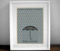 Singin' in the Rain Print.