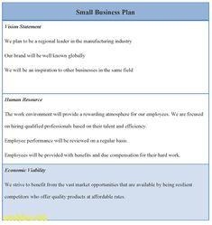 Business Plan Template Business Plan Template Free Business - Small business plan template free