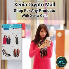 Time to make more secure and safer transaction for all your online shopping. Xenia Crypto Mall will not require you to pass out your card details, curtailing the risk of online phishing. To know more, visit the website now! Shopping Mall, Online Shopping, Digital Coin, Cryptocurrency, Your Cards, Website, How To Make, Free, Shopping Center