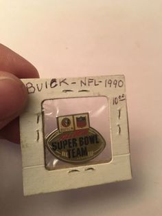 1990 Super Bowl Xxlv Buick #NFL Pin All Time Pin Vintage 49ers/#Broncos #Football from $9.99