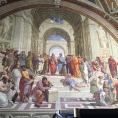 Raphael at Vatican Museum