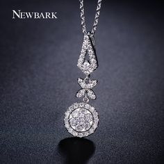 Find More Chain Necklaces Information about NEWBARK Women Necklaces 18k White…