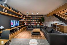 Meble do nowoczesnego domu - Średni salon z kuchnią z jadalnią, styl nowoczesny - zdjęcie od Zirador - Meble tworzone z pasją