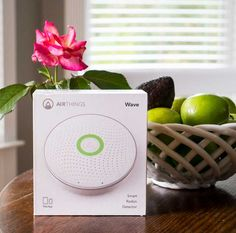 The Happier Homemaker recommends the Airthings wave!