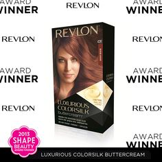 "A round of applause for our Luxurious ColorSilk Buttercream, which SHAPE Magazine named ""Best At-Home Hair Color"" in their 10th Annual Beauty Awards!"