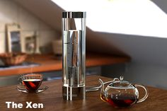 The Xen Kettle  The Xen Kettle brings the act of boiling water into the 21st century with unrivaled control and elegant minimalist design.