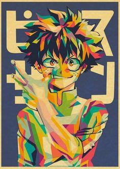 My Hero Academia Retro Posters - 42X30cm / Q020 / China