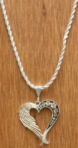 Montana Silversmiths® Silver & Gold a Love Joined From Heaven & Earth Heart Necklace | Cavender's