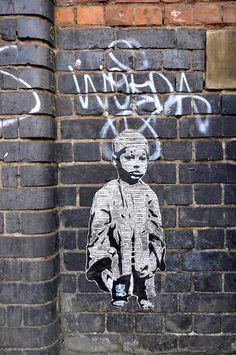 Art, Brick Lane, East End, London, London Stencil Art, London Street Art