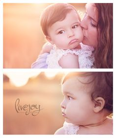 1 Year Baby Girl Photo Session and Cake Smash Outdoors #livejoyphotography #babymilestone