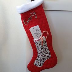 How to Make a Letter to Santa Christmas Stocking | eHow