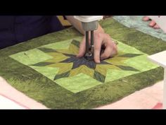 Machine Quilting Secrets for your Quilt Blocks - YouTube