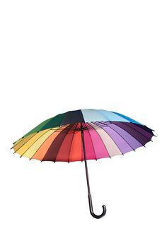 Rainbow Umbrella on HauteLook $15.00