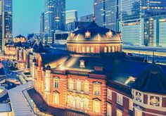 Tokyo railway station – It's the busiest station in Japan in terms of number of trains per day (more than 3,000) 350,000 passengers pass through its turnstiles on a daily basis.