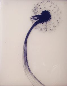 "Drawing ""Dandelion"" by Benjamin del Castillo"