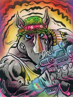 Rocksteady - TMNT - Ralph Niese