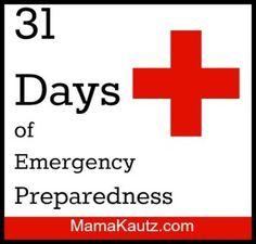 31 Days of Emergency Preparedness