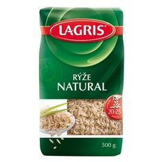 Lagris Rýže NATURAL 500 g - nakupuj na Podravka-eshop.cz Snack Recipes, Snacks, Natural, Chips, Food, Appetizer Recipes, Meal, Potato Chip, Hoods