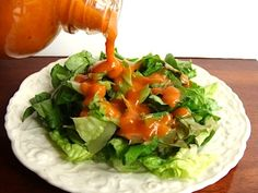 Like 'French' dressing? Try this easy homemade Healthier American French Dressing – SO good on taco salad! An Oregon Cottage