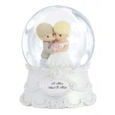 To Have And To Hold - Musical Water Globe - New Arrivals - Precious Moments