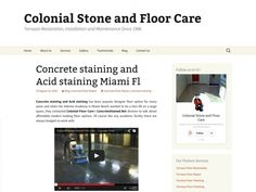 Concrete staining and Acid staining Miami Fl