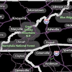 Knoxville, TN Interactive Weather Radar Map - AccuWeather.com ...