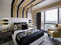 i like the color combo in here - HGTV Urban Oasis 2013: Master Bedroom Pictures  on HGTV