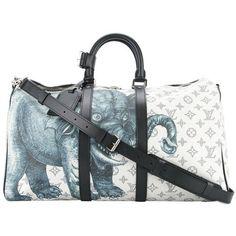1c4e472c5965 Louis Vuitton NEW Limited Edition Men s Travel Weekend Shoulder Tote Duffle  Bag